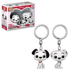 Image 101 Dalmatians - Pongo & Perdita Pocket Pop! Keychain 2-pack
