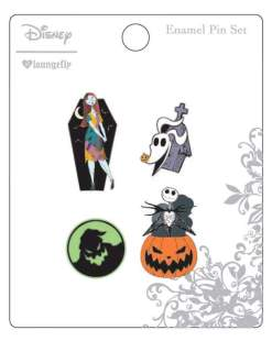 Image A Nightmare Before Christmas - Enamel Pin 4pk