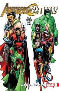 Image AVENGERS & CHAMPIONS TP WORLDS COLLIDE