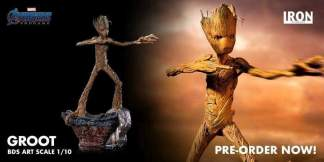 Image Avengers 4: Endgame - Groot 1:10 Scale Statue