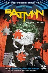 Image BATMAN TP VOL 04 THE WAR OF JOKES & RIDDLES (REBIRTH)