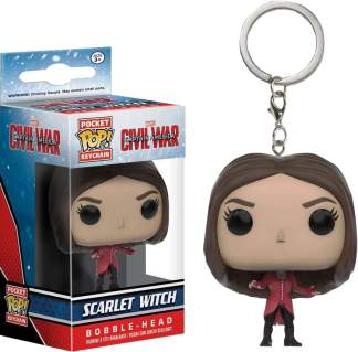 Image Captain America 3 - Scarlet Witch Pop! Keychain