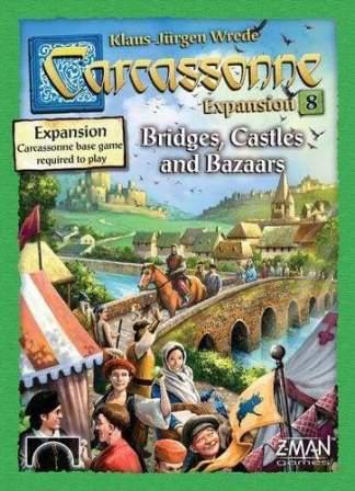 Image Carcasonne Expansion 8 Bridges Castles and Bazaars