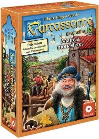 Image Carcassonne Abbey and Mayor