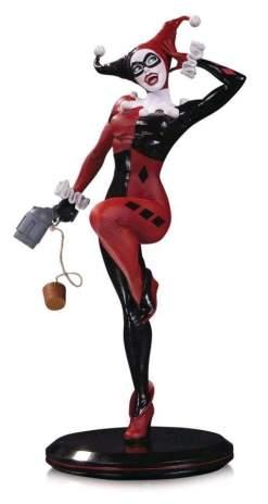 Image DC Cover Girls - Harley Quinn Statue by Joelle Jones