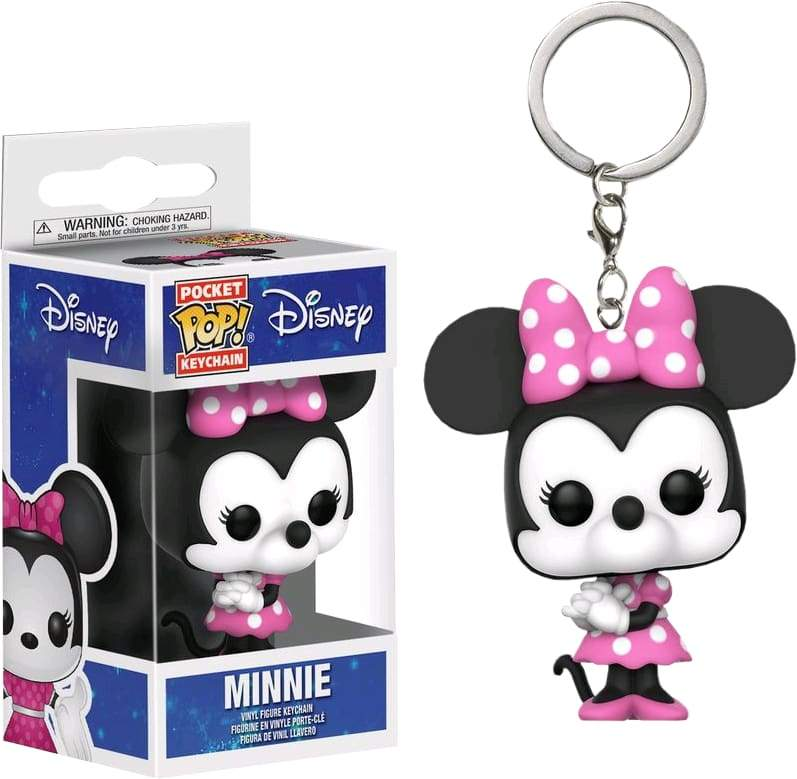 Image Disney - Minnie Mouse Pop! Keychain