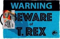 Image Doormat - Jurassic Park Beware of T-Rex