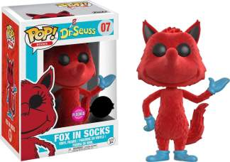 Image Dr Seuss - Fox in Socks FL Pop! !E RS