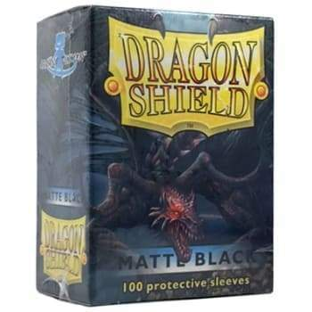 Image Dragon Shield Matte Sleeves Black Matte (100)