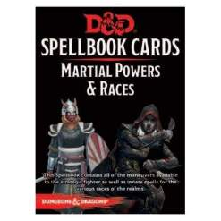 Image Dungeons & Dragons Spellbook Cards Martial Powers and Races