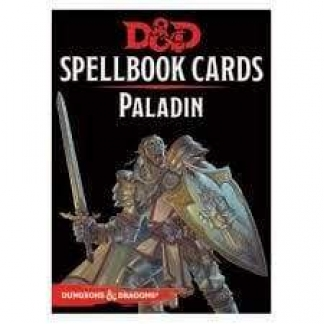 Image Dungeons & Dragons Spellbook Cards Paladin