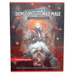 Image Dungeons & Dragon's Waterdeep Dungeon of the Mad Mage Maps and Miscellany