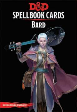 Image Dungeons and Dragons Spellbook Cards Bard
