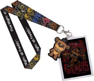 Image FNaF - Freddy Lanyard w/ Backer Card !E RS