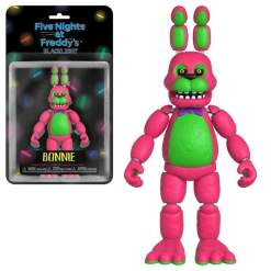 """Image Five Nights at Freddy's - Bonnie Black Light 5"""" Action Figure"""