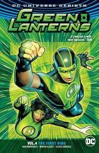 Image GREEN LANTERNS TP VOL 04 THE FIRST RINGS (REBIRTH)