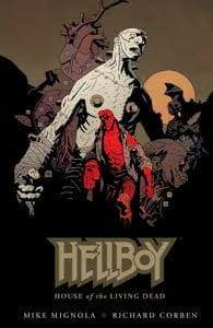 Image HELLBOY HOUSE OF THE LIVING DEAD HC