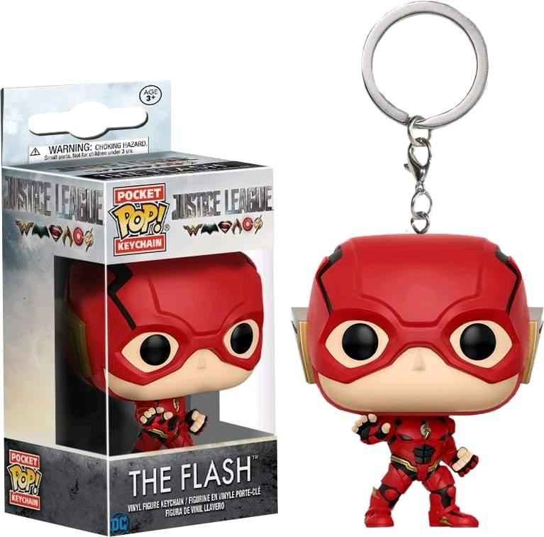 Image JL Movie - Flash Pop! Keychain
