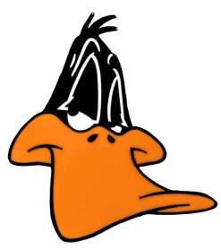 Image Looney Tunes - Daffy Duck Enamel Pin