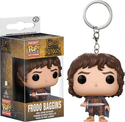 Image LotR - Frodo Baggins Pop! Keychain