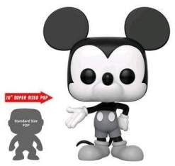 """Image Mickey Mouse - 90th Mickey Mouse Black & White US Exclusive 10"""" Pop! Vinyl [RS]"""