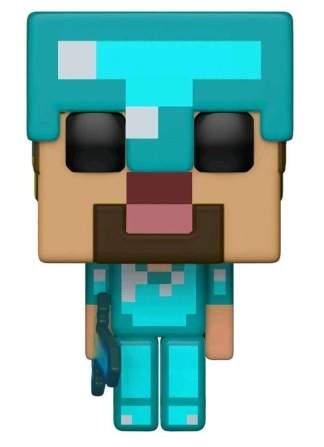 Image Minecraft - Steve w/Diamond ArmorBL Pop! RS