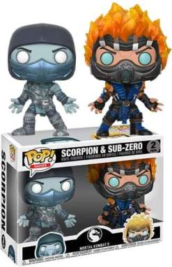 Image Mortal Kombat - Scorpion & Subzero US Exclusive Pop! Vinyl 2-pack [RS]
