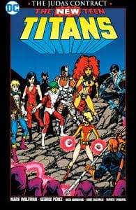 Image NEW TEEN TITANS THE JUDAS CONTRACT NEW PTG