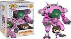 """Image Overwatch - D.Va & MEKA 6"""" Pop!"""