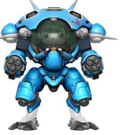 "Image Overwatch - D.Va & MEKA Blueberry 6"" Pop! !E RS"