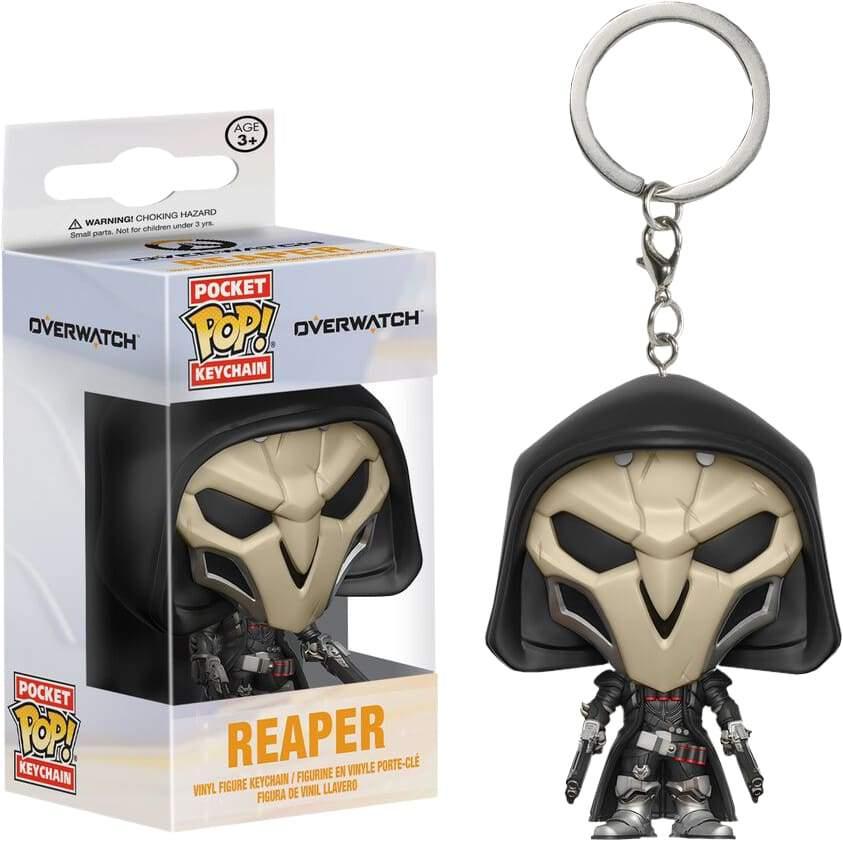 Image Overwatch - Reaper Pop! Keychain