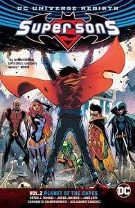 Image SUPER SONS TP VOL 02 PLANET OF THE CAPES REBIRTH