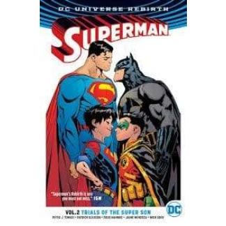 Image SUPERMAN TP VOL 02 TRIALS OF THE SUPER SON (REBIRTH)