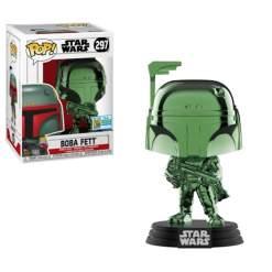 Image Star Wars - Boba Fett (Green Chrome) Pop! SD19 RS