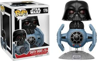 Image Star Wars - Darth Vader TIE Fighter Pop! Dlx