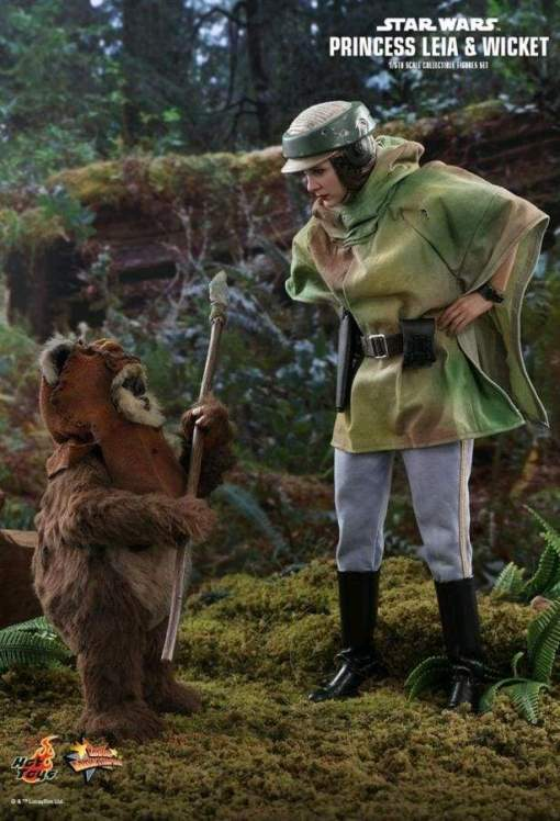 Image Star Wars - Leia & Wicket Return of the Jedi 1:6 Scale Acton Figure