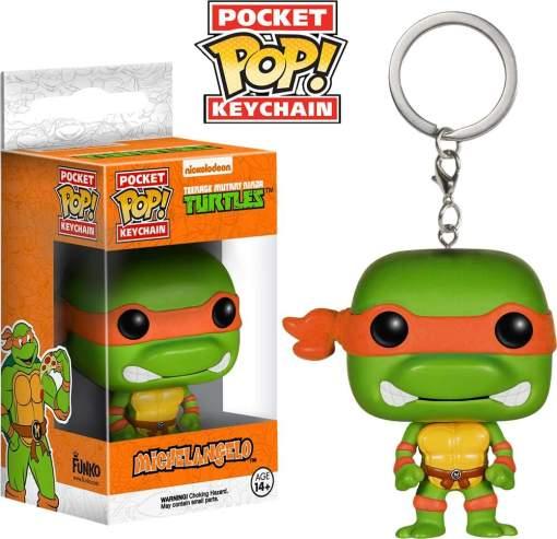 Image TMNT - Michelangelo Pop! Keychain