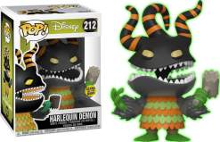 Image The Nightmare Before Christmas - Harlequin Demon Glow US Exclusive Pop! Vinyl [RS]