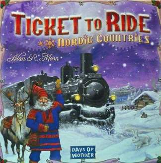 Image Ticket to Ride Nordic Countries