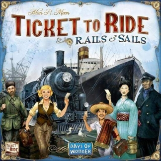 Image Ticket to Ride Rails and Sails