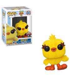 Image Toy Story 4 - Ducky Flocked US Exclusive Pop! Vinyl [RS]