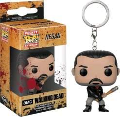 Image Walking Dead - Negan BS Pop! Keychain