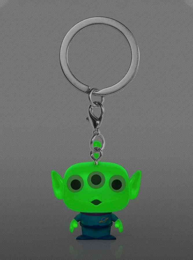 Toy Story 4 – Alien Glow US Exclusive Pocket Pop! Keychain [RS]