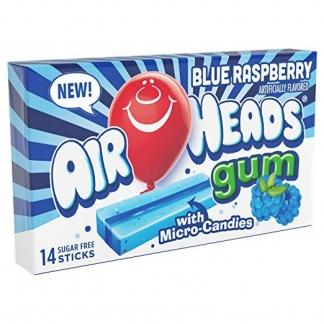 Image Air Heads Sugar Free Gum Blue Raspberry