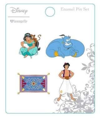 Image Aladdin - Enamel Pin 4-pack