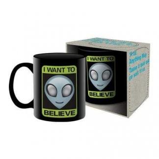 Image Aliens - I Want To Believe Ceramic Mug