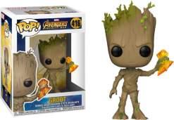 Image Avengers 3 - Groot with Stormbreaker Pop!