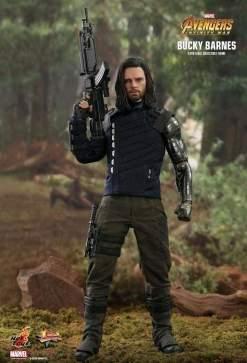 """Image Avengers 3: Infinity War - Bucky Barnes 12"""" 1:6 Scale Action Figure"""