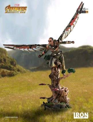 Image Avengers 3: Infinity War - Falcon 1:10 Scale Statue