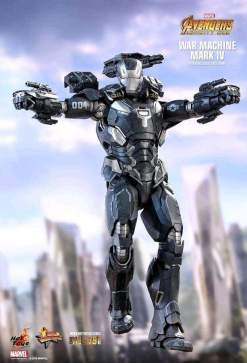 "Image Avengers 3: Infinity War - War Machine Mark IV Diecast 12"" 1:6 Scale Action Figure"